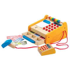 Hape Fresh Food Market Cash Register 37 Pieces