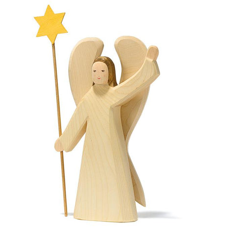 Large Wooden Angel with Star Limited Edition - Ostheimer