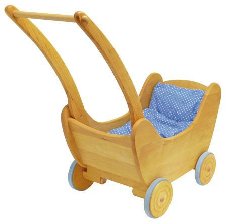 Gluckskafer Wooden Pram