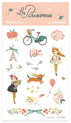 Les Parisiennes Temporary Tattoos- by Moulin Roty