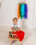 Play Silks Sarah's silks, dragonfly toys, pedagogy, open ended play, steiner, waldorf