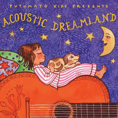 Acoustic Dreamland music cd for kids, Dragonflytoys