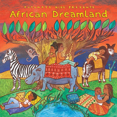 African Dreamland CD Putumayo Dragonfly toys
