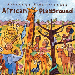African Playground CD Putumayo, Dragonfly toys