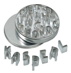 Alphabet Cookie Cutter Kit Mini Set