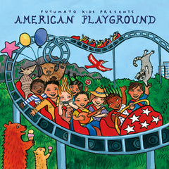 American Playground, Putumayo, CD, Music, Dragonfly Toys