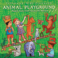 Animal Playground CD, Putumayo, dragonfly toys