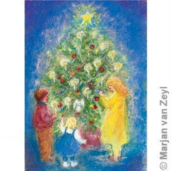 Around the Christmas Tree Card, Dragonflytoys