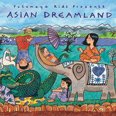 Asian Dreamland CD, Putumayo, Dragonfly Toys