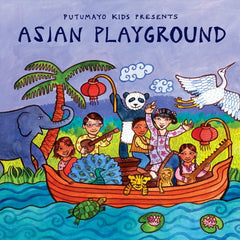 Asian Playground kids Music CD by Putumayo Kids, Dragonflytoys