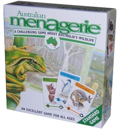 Australian Menagerie - A challenging game about Australia's Wildlife, Dragonflytoys