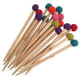 Bamboo knitting needles by Papoose