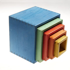 Nesting Cube Blocks   Bio Assortment