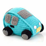 Pebble Knitted Car Rattle