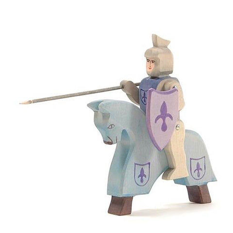 Blue Knight with Blue Horse Set  - Ostheimer