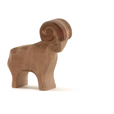 Brown Ram Wooden Sheep  - Ostheimer