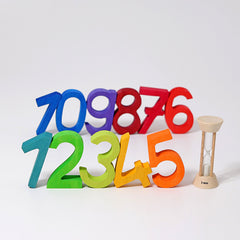 Building Numbers Puzzle by Grimms