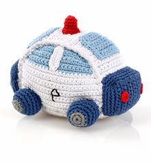 Pebble Police Car Rattle