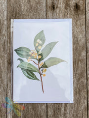 Greeting Card - Leaf