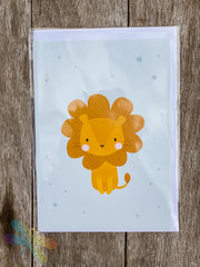 Greeting Card - Lion