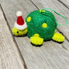 Felt Christmas Tree Decorations, Dragonfly Toys, Pashom, Turtle