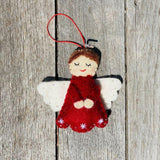 Felt Christmas Tree Decorations, Dragonfly Toys, Pashom, Angel Red