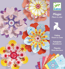 Create Paper Flowers by Djeco