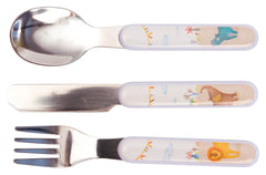 Moulin Roty Les Papoum Kids Cutlery Set