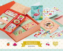 Marie Stationery and Writing Set by Djeco, Dragonflytoys