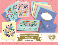 Anna Emilia Correspondence Writing Set by Djeco,Dragonflytoys
