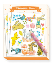 120 Elodie decals by Djeco, Dragonflytoys