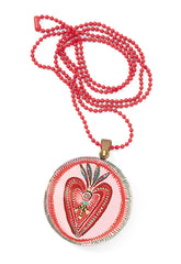 Heart Locket Necklace,Dragonflytoys