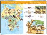 World Animals Puzzle (100 Pieces) by Djeco