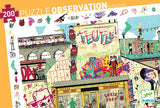 Street Art Observation Puzzle (200 Pieces) by Djeco