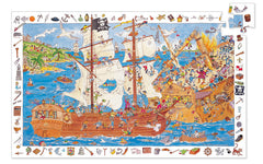 Pirates Puzzle 100 Pieces Observation Puzzle by Djeco