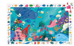 Djeco Aquatic 54 Observation Pieces Puzzle