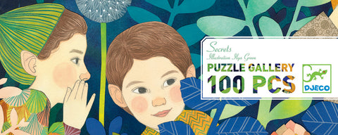 Secrets 100 Piece Puzzle by Djeco,Dragonflytoys