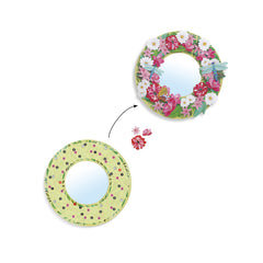 Do it Yourself Pretty Flowers Mirror Kit by Djeco