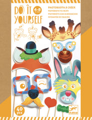 Do it Yourself Animal Photo booth Creator Kit by Djeco, Dragonflytoys