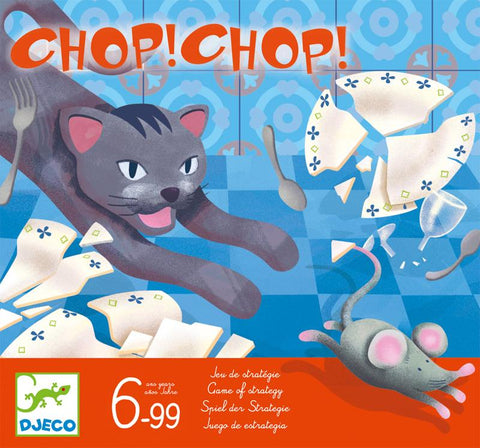 Chop Chop Board Game by Djeco,Dragonflytoys