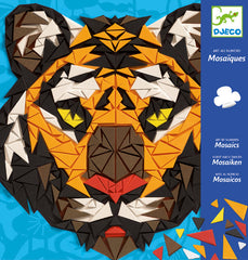 Tiger Khan Mosaic Craft Kit by Djeco