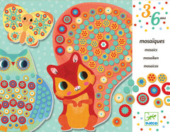 Animal Mosaic Craft Kit by Djeco, Dragonflytoys
