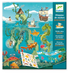 Adventures at Sea Stickers Set, Dragonflytoys