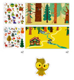 Magical Forest Stickers Set, Dragonflytoys