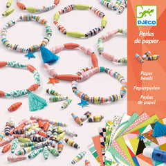 Djeco Spring Bracelets Paper Beads Craft Kit