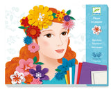 Create Paper Flwers (Girls with Flowers)  by Djeco