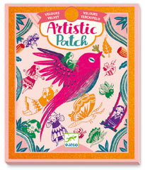 Artistic Velour Patch Craft Kit by Djeco, Dragonflytoys
