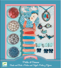 Beads, Pearls and Bird Kit by Djeco
