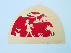 De Noest Red Riding Hood Silhouette