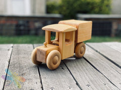 Big Delivery Van, debresk, wooden toy, made in sweden, dragonfly toys